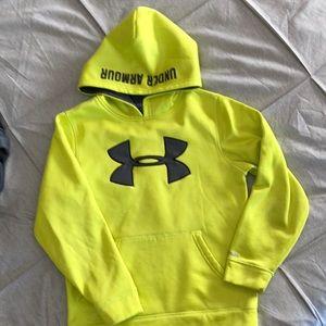 YXS boys Under Armour storm hoodie